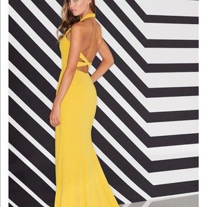 Colette Marigold Gown